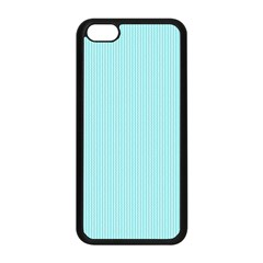 Light Blue Texture Apple Iphone 5c Seamless Case (black) by Valentinaart