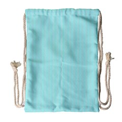 Light Blue Texture Drawstring Bag (large) by Valentinaart
