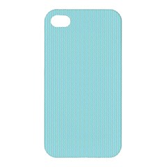 Light Blue Texture Apple Iphone 4/4s Hardshell Case by Valentinaart