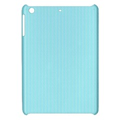 Light Blue Texture Apple Ipad Mini Hardshell Case