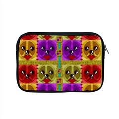 Peace Dogs Apple Macbook Pro 15  Zipper Case by pepitasart