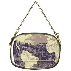 River Globe Chain Purses (one Side)  by MTNDesignco
