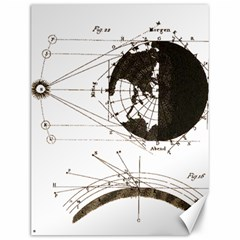 Planetary Equations Canvas 12  X 16   by MTNDesignco