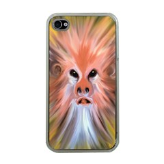 Monster Ghost Horror Face Apple Iphone 4 Case (clear) by Nexatart