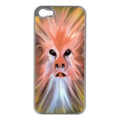 Monster Ghost Horror Face Apple Iphone 5 Case (silver) by Nexatart
