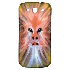 Monster Ghost Horror Face Samsung Galaxy S3 S Iii Classic Hardshell Back Case by Nexatart