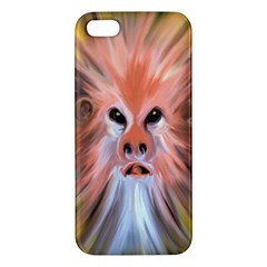 Monster Ghost Horror Face Apple Iphone 5 Premium Hardshell Case by Nexatart
