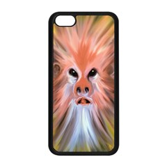 Monster Ghost Horror Face Apple Iphone 5c Seamless Case (black) by Nexatart