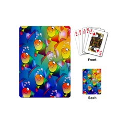 Fish Pattern Playing Cards (mini)