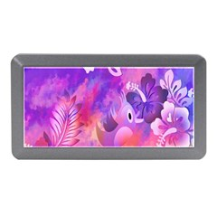 Abstract Flowers Bird Artwork Memory Card Reader (mini)