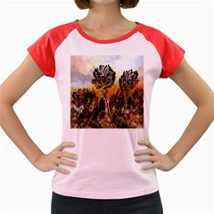 Abstract Digital Art Women s Cap Sleeve T Shirt by Nexatart