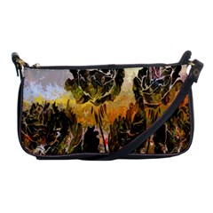 Abstract Digital Art Shoulder Clutch Bags