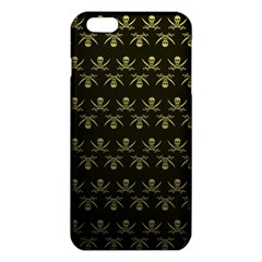Abstract Skulls Death Pattern Iphone 6 Plus/6s Plus Tpu Case by Nexatart