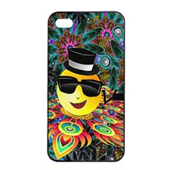 Abstract Digital Art Apple Iphone 4/4s Seamless Case (black)