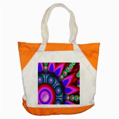 Abstract Digital Art  Accent Tote Bag by Nexatart