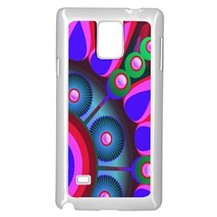 Abstract Digital Art  Samsung Galaxy Note 4 Case (white) by Nexatart