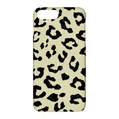 Skin5 Black Marble & Beige Linen Apple Iphone 7 Plus Hardshell Case by trendistuff