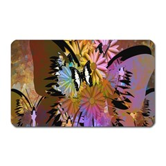 Abstract Digital Art Magnet (rectangular)