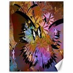 Abstract Digital Art Canvas 12  X 16