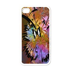 Abstract Digital Art Apple Iphone 4 Case (white) by Nexatart