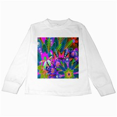 Abstract Digital Art  Kids Long Sleeve T-shirts