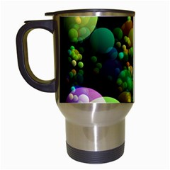 Abstract Balls Color About Travel Mugs (white)