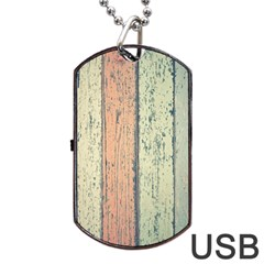 Abstract Board Construction Panel Dog Tag Usb Flash (two Sides) by Nexatart