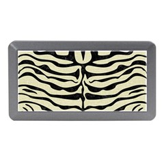 Skin2 Black Marble & Beige Linen (r) Memory Card Reader (mini) by trendistuff