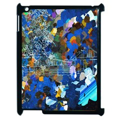 Abstract Farm Digital Art Apple Ipad 2 Case (black) by Nexatart