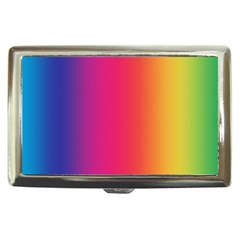 Abstract Rainbow Cigarette Money Cases by Nexatart