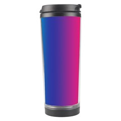 Abstract Rainbow Travel Tumbler by Nexatart