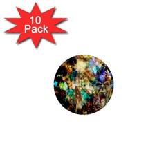 Abstract Digital Art 1  Mini Magnet (10 Pack)