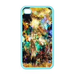Abstract Digital Art Apple Iphone 4 Case (color) by Nexatart