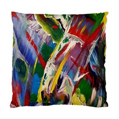 Abstract Art Art Artwork Colorful Standard Cushion Case (one Side) by Nexatart