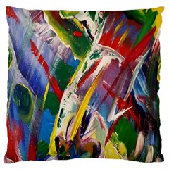 Abstract Art Art Artwork Colorful Standard Flano Cushion Case (one Side) by Nexatart
