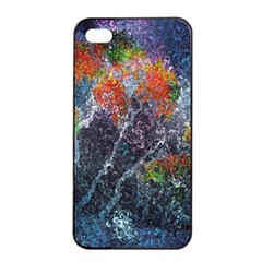 Abstract Digital Art Apple Iphone 4/4s Seamless Case (black) by Nexatart