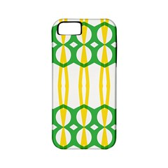 Green Yellow Shapes                                                                                                                  			apple Iphone 5 Classic Hardshell Case (pc+silicone) by LalyLauraFLM