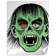 Zombie Face Vector Clipart Canvas 18  X 24   by Nexatart