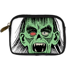Zombie Face Vector Clipart Digital Camera Cases by Nexatart