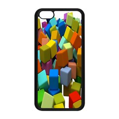 Cubes Assorted Random Toys Apple Iphone 5c Seamless Case (black) by Nexatart