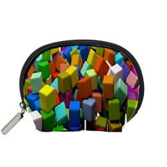 Cubes Assorted Random Toys Accessory Pouches (small)  by Nexatart