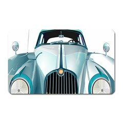 Oldtimer Car Vintage Automobile Magnet (rectangular) by Nexatart