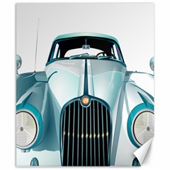 Oldtimer Car Vintage Automobile Canvas 8  X 10  by Nexatart