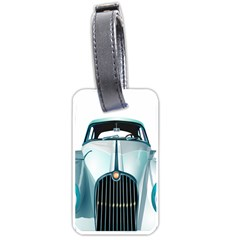 Oldtimer Car Vintage Automobile Luggage Tags (one Side)