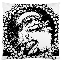 Santa Claus Christmas Holly Standard Flano Cushion Case (two Sides) by Nexatart