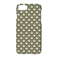 Scales2 Black Marble & Beige Linen (r) Apple Iphone 7 Hardshell Case by trendistuff
