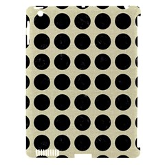 Circles1 Black Marble & Beige Linen (r) Apple Ipad 3/4 Hardshell Case (compatible With Smart Cover) by trendistuff