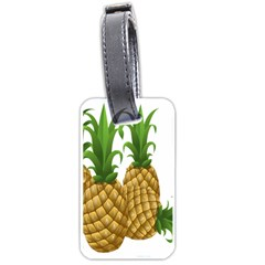 Pineapples Tropical Fruits Foods Luggage Tags (one Side)