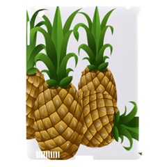 Pineapples Tropical Fruits Foods Apple Ipad 3/4 Hardshell Case (compatible With Smart Cover) by Nexatart