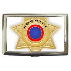 Sheriff S Star Sheriff Star Chief Cigarette Money Cases by Nexatart